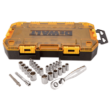 "Dewalt 25 Pieces 1/4"" Socket Set"