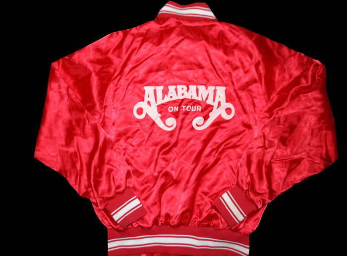 80's alabama tour bomber