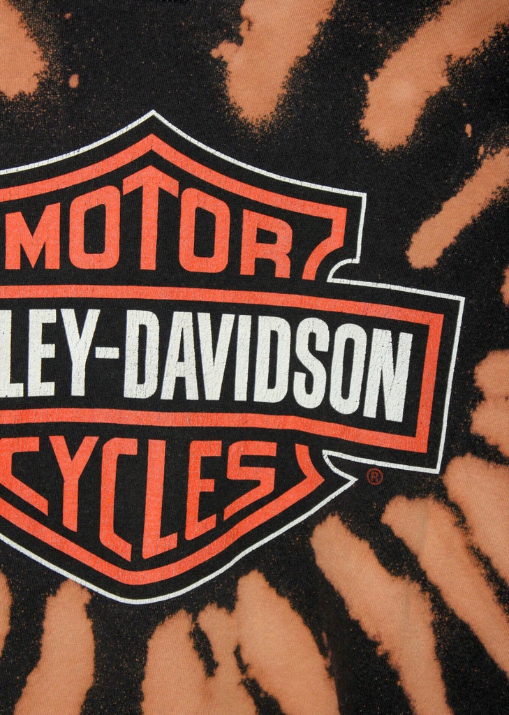 ORIGINAL HARLEY DAVIDSON CUSTOM ACID WASH TEE