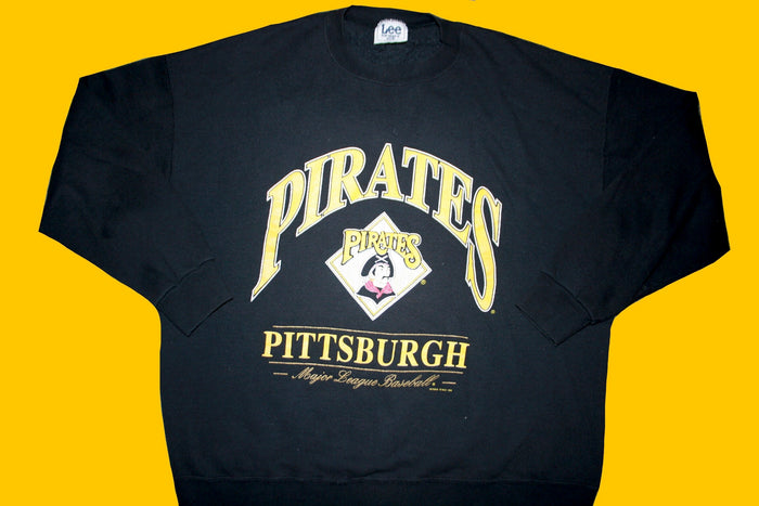 1996 Pittsburgh pirates crewneck