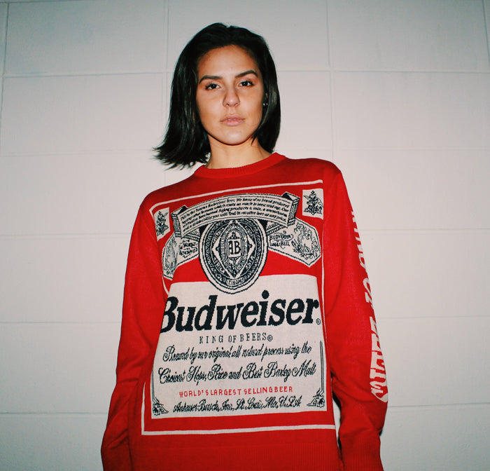 80's BUDWEISER SWEATER