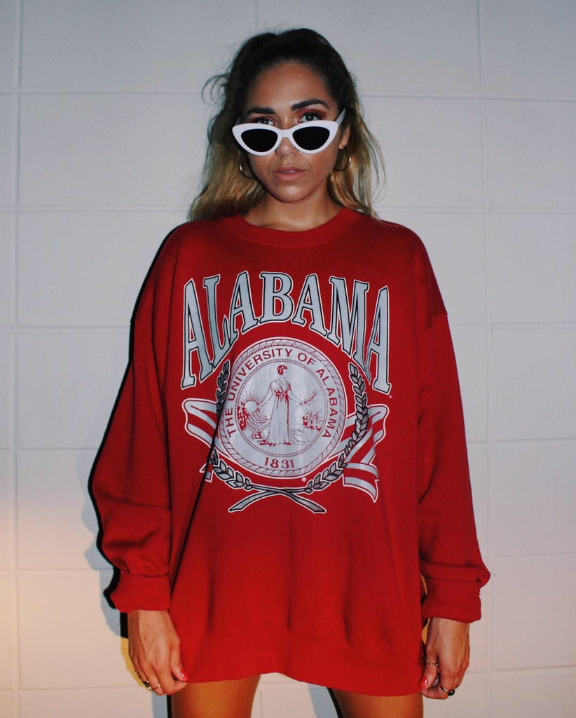 UNIVERSITY OF ALABAMA VINTAGE CREWNECK