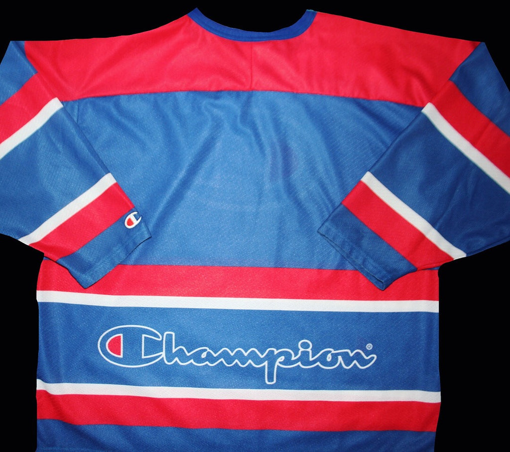 90's champion hockey jersey
