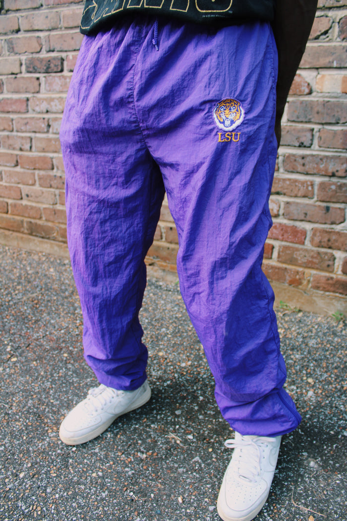 80's LSU Windbreaker Pants