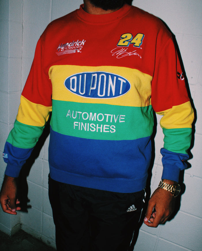 1990s JEFF GORDON RACING #24 CREWNECK