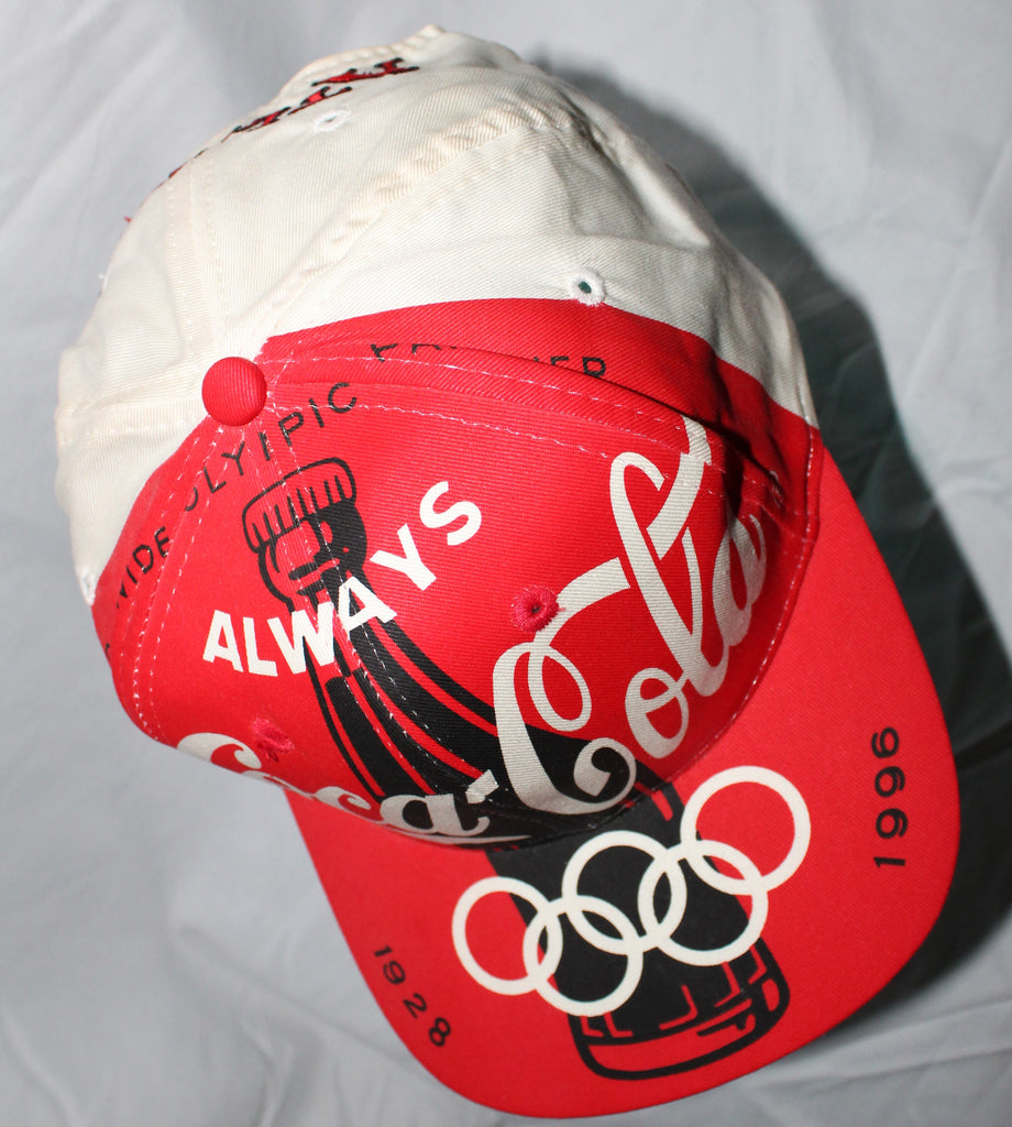 1996 COCA COLA / ATLANTA OLYPMIC GAMES SNAPBACK