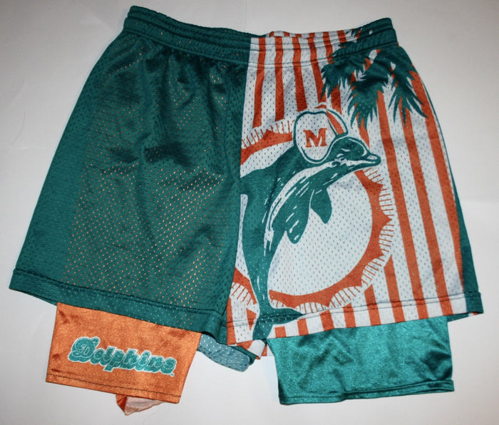 vintage Wilson Miami Dolphins warm up shorts