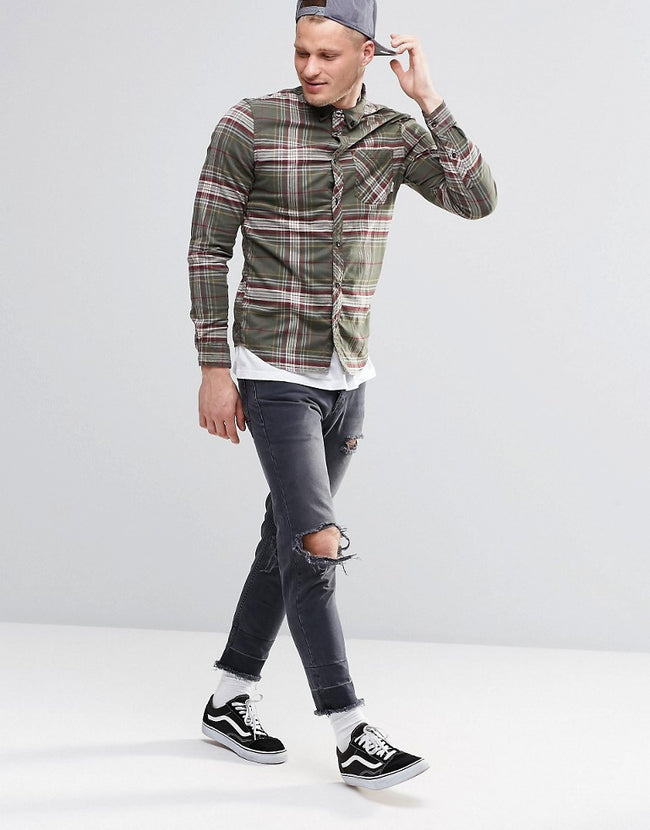 Element Buffalo Plaid Flannel Shirt In Regular Fit