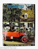 Vintage Ford Magazines 1969 Full Year Antique Automobiles, Model T Ford