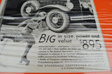 1930 Erskine Studebaker Print Ad  From The Saturday Evening Post w/ Certificate