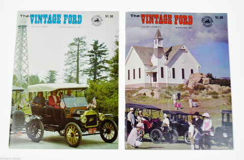 Vintage Ford Mags 1971 Jan - Apr  Antique Automobiles, Model T Ford