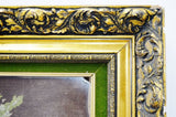 Large Gilt Framed Needlepoint