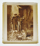 1900 Photogravure by CD Graves Lucrezia Borgia, Last act last scene