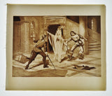 1900 Photogravure Henry T Carris Art I Puritani Opera by Bellini Theater Music