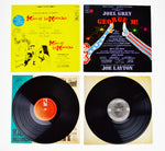 Collection of 12 Vintage Decorative Broadway Musical LP Covers