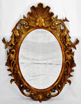 Vintage Drexel Heritage Ornately Carved Wood Wall Mirror