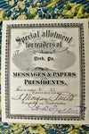 1899 A Compilation of Messages and Papers of the Presidents Illustrated