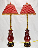 Vintage Raymond Waites Frederick Cooper Table Lamps - A Pair