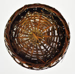 Vintage Bamboo and Wicker Basket
