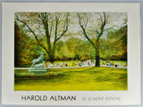 Vintage Harold Altman At Le Mont Editions Lithograph Printed in France