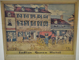 Antique Indian Queen Hotel Robert Smith Ale Brewing Co. Lithograph by James Preston