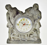 Art Deco Gibraltar Mantel Clock Nautical Mariner Theme