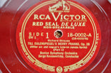 Vintage Victor Records Schumann & Strauss 78 RPM Record Sets