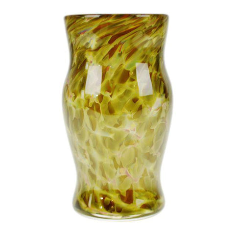Handcrafted, Hand-Blown Art Glass Vessel