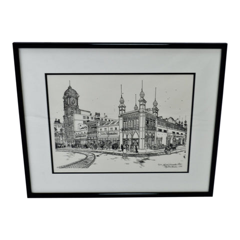 Vintage Framed The John Wanamaker Store Print by Ira Shander
