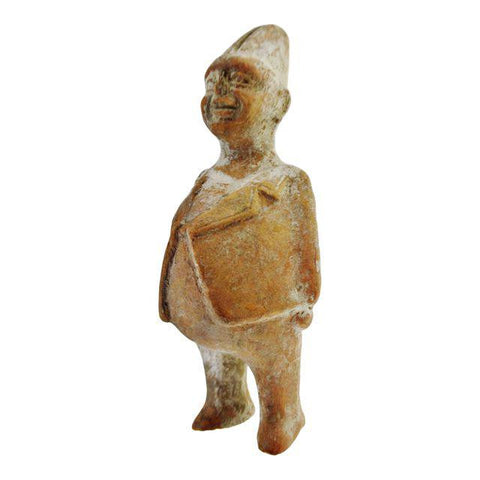 Pre-Columbian Style Clay Figure