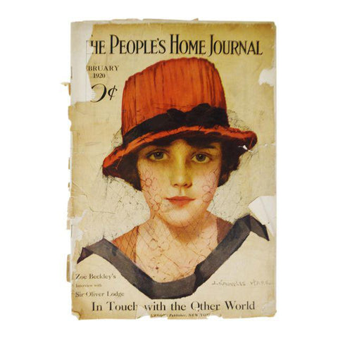 Early February 1920 The People's Home Journal Magazine