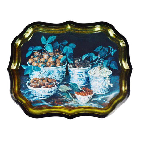 Toleware Style Tray Made in England