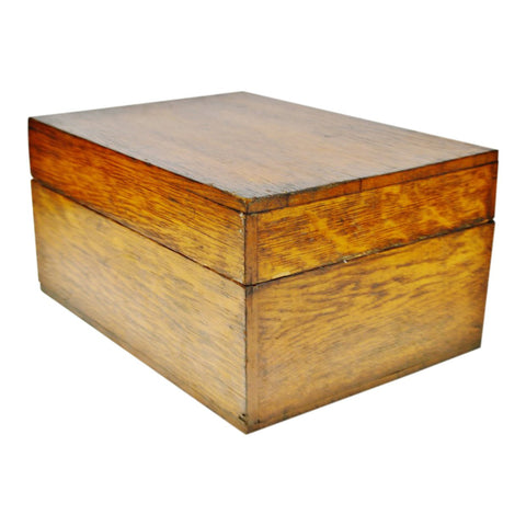 Vintage Wooden Lidded Box