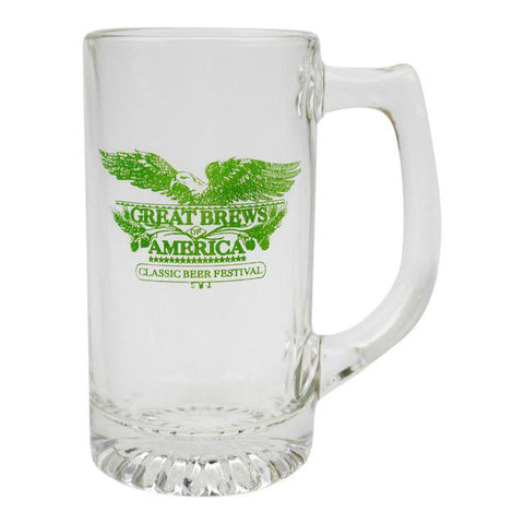 Great Brews of America Classic Beer Festival 13oz Beer Mugs - Case of 24