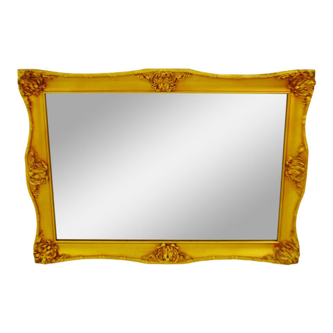 Vintage Framed Gilt Gesso Bassett Wall Mirror