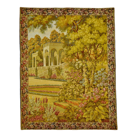 Vintage Corona Decor Co. Formal Garden Wall Tapestry
