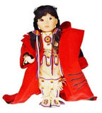 Vtg Native American Indian Children of the Great Spirit Winter Baby Doll