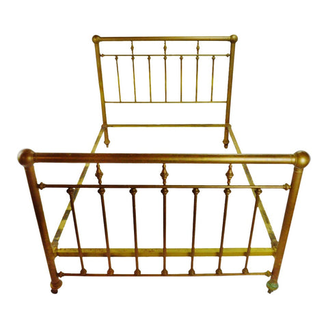 Antique Solid Brass Full Size Bed