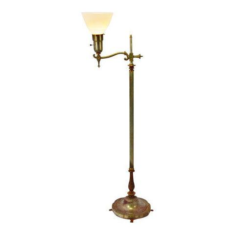 Art Deco Rembrandt Floor Lamp with Diffuser