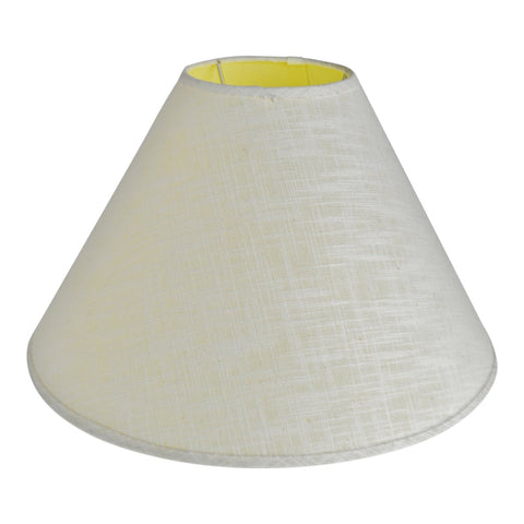 Vintage Linen Empire Lamp Shade