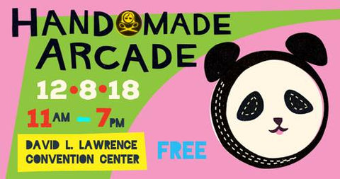 Handmade Arcade - Dec 8 - David L Lawrence Convention Center