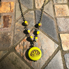 Lotus Coin Necklace