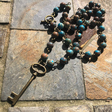 Teal Agate Necklace