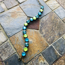 Lime + Teal Classic Bracelet