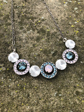 Rosewater Opal Bubble Necklace