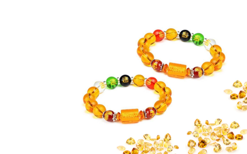 how to cleanse citrine bracelet