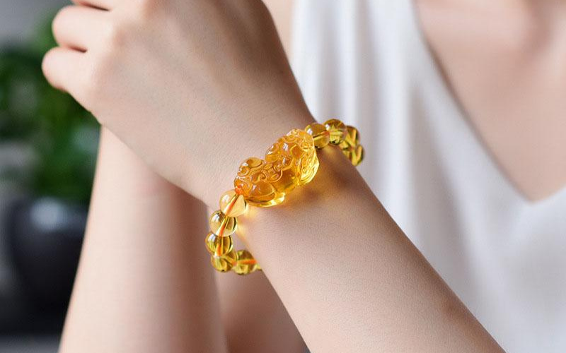 how to wear citrine bracelet