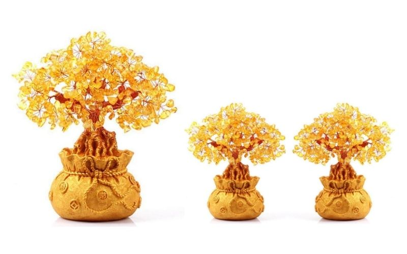 real citrine money tree