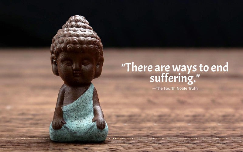 buddha quotes on four noble truths - the fourth noble truth