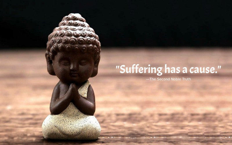 buddha quotes on four noble truths - the second noble truth